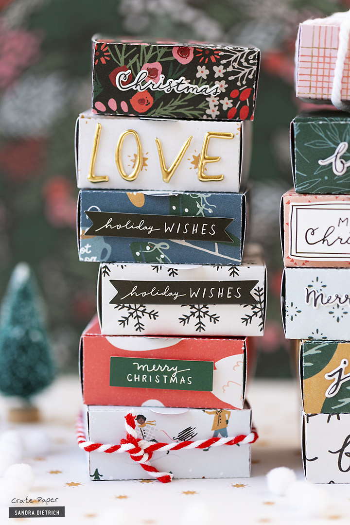 CRATE PAPER | Merry Days | Gift Wrapping | Gift Boxes | B
