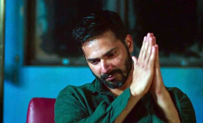 Varun Dhawan as Raghu, in Badlapur, Directed by Sriram Raghavan