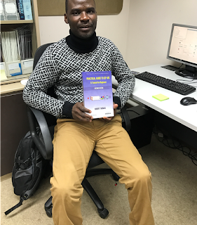 Emmanuel with 'A Practical Guide to ICP-MS'