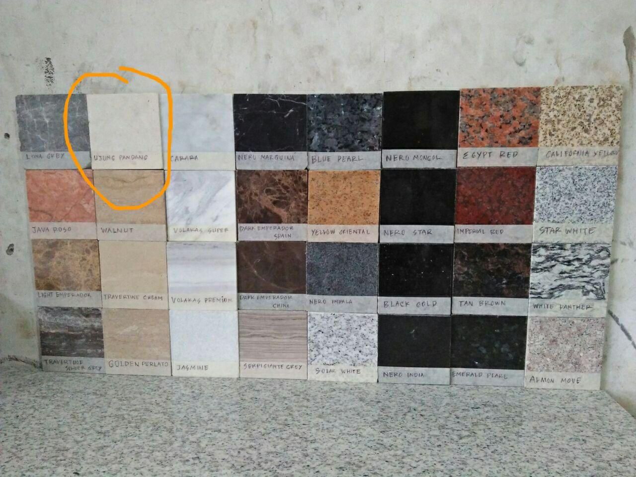 Jasa pemasangan top table granit marmer kitchen set top for Harga granit untuk kitchen set