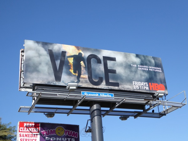 Vice season 4 HBO billboard