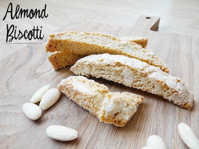 Almond Biscotti | The Purple Pumpkin Blog