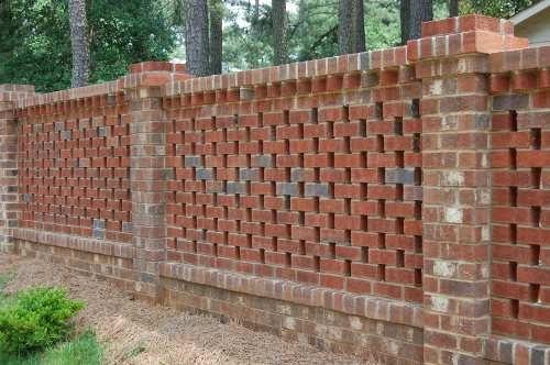 Do-It-Yourself Masonry: How to Build a Brick Lattice Fence