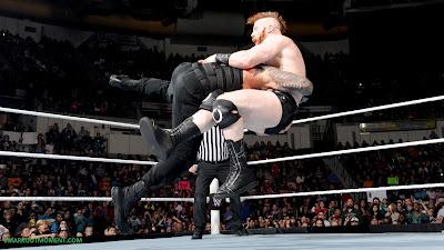 Juggernaut Tackles Celtic Warrior Wrestling Match