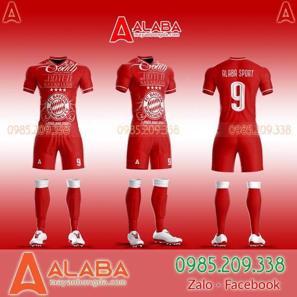 Áo Bayern Tự Thiết Kế Đẹp 2019 mã ALB BA10
