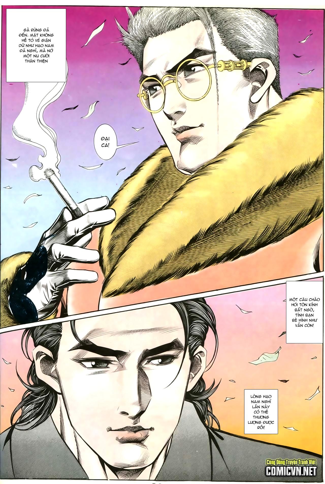Người Trong Giang Hồ chapter 202: đối đầu trang 17