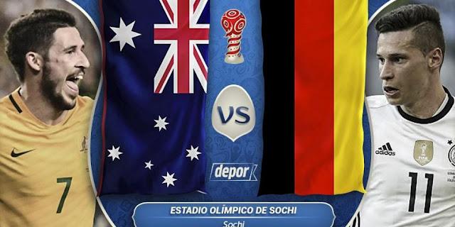 Ver Partido Alemania vs Australia EN VIVO Gratis Por Internet Hoy 19/06/2017