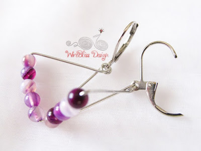 Geometric Earrings by WireBliss