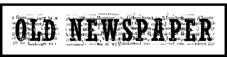 periódico antiguo tipografias gratis