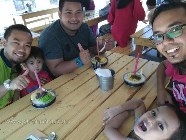 cendol champion kuala terengganu, cendol viral di facebook, cendol durian,