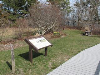 Boardwalk at Monomy Wildlife Refuge