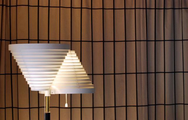 valaisin, alvar aalto, jalkalamppu, finnish design, suomalainen muotoilu, a810