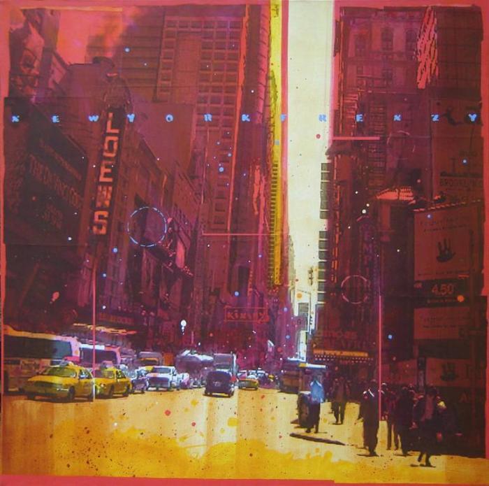 Безумие городской жизни. Alan Kinsey