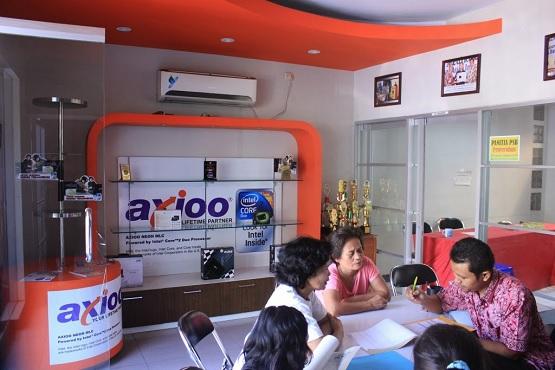 service center axioo Resmi