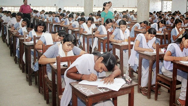 telangana-students-in-exam