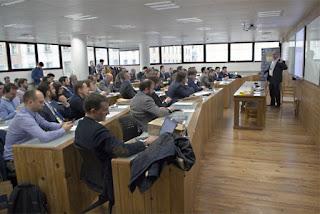 Fintech Unconference 2016 en el IEB. EFE/José Carlos Pedrouzo
