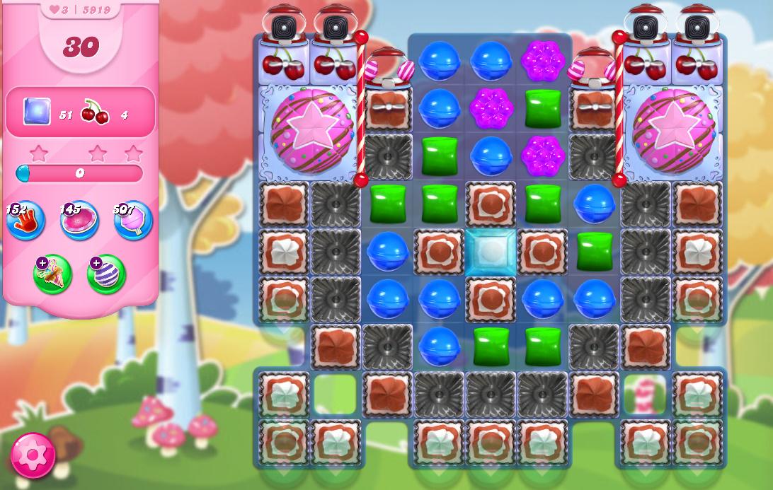 Candy Crush Saga level 5919