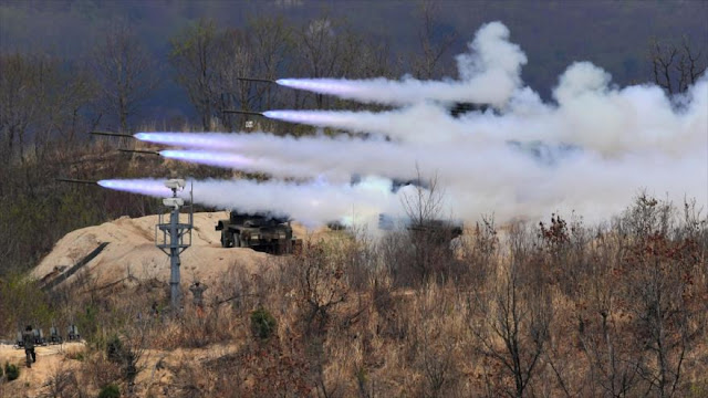 Pyongyang pide a Seúl detener sus maniobras con EEUU, si quiere paz