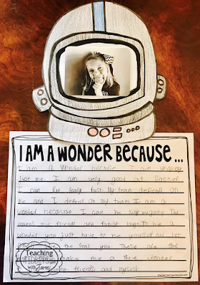 We're All Wonders - Book Companion Resource (Writing Prompt)
