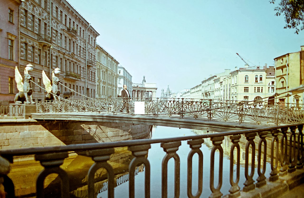 Color Photos of Leningrad in 1972  vintage everyday