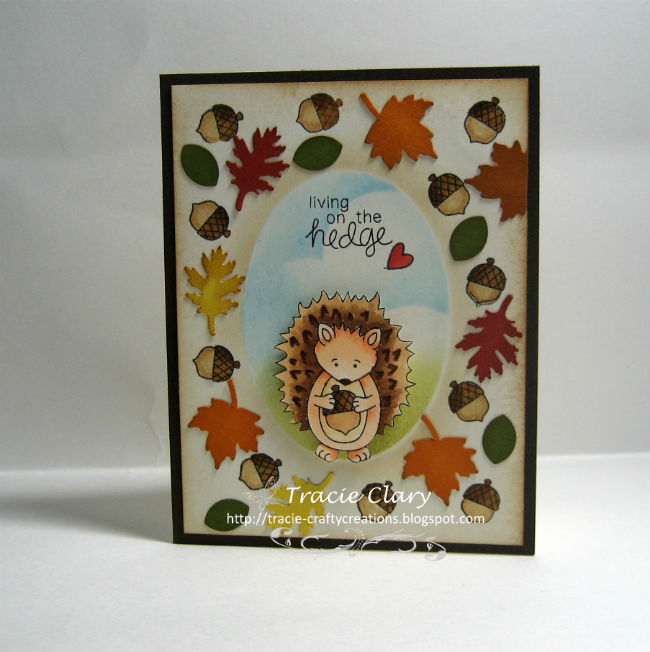 Living on the hedge by Tracie features Hedgehog Hollow by Newton's Nook Designs; #newtonsnook