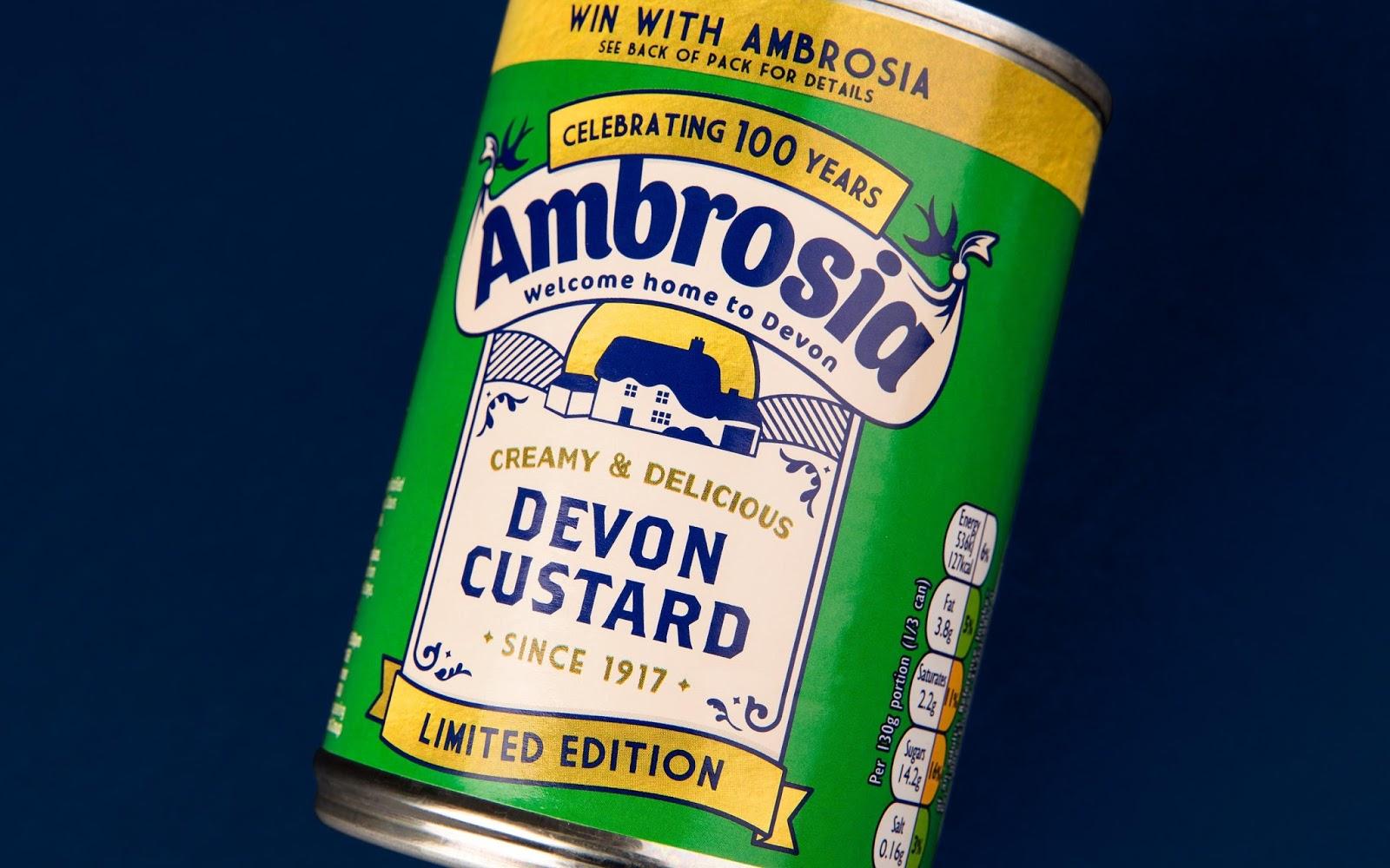 Thiết kế bao bì sản phẩm Ambrosia Centenary