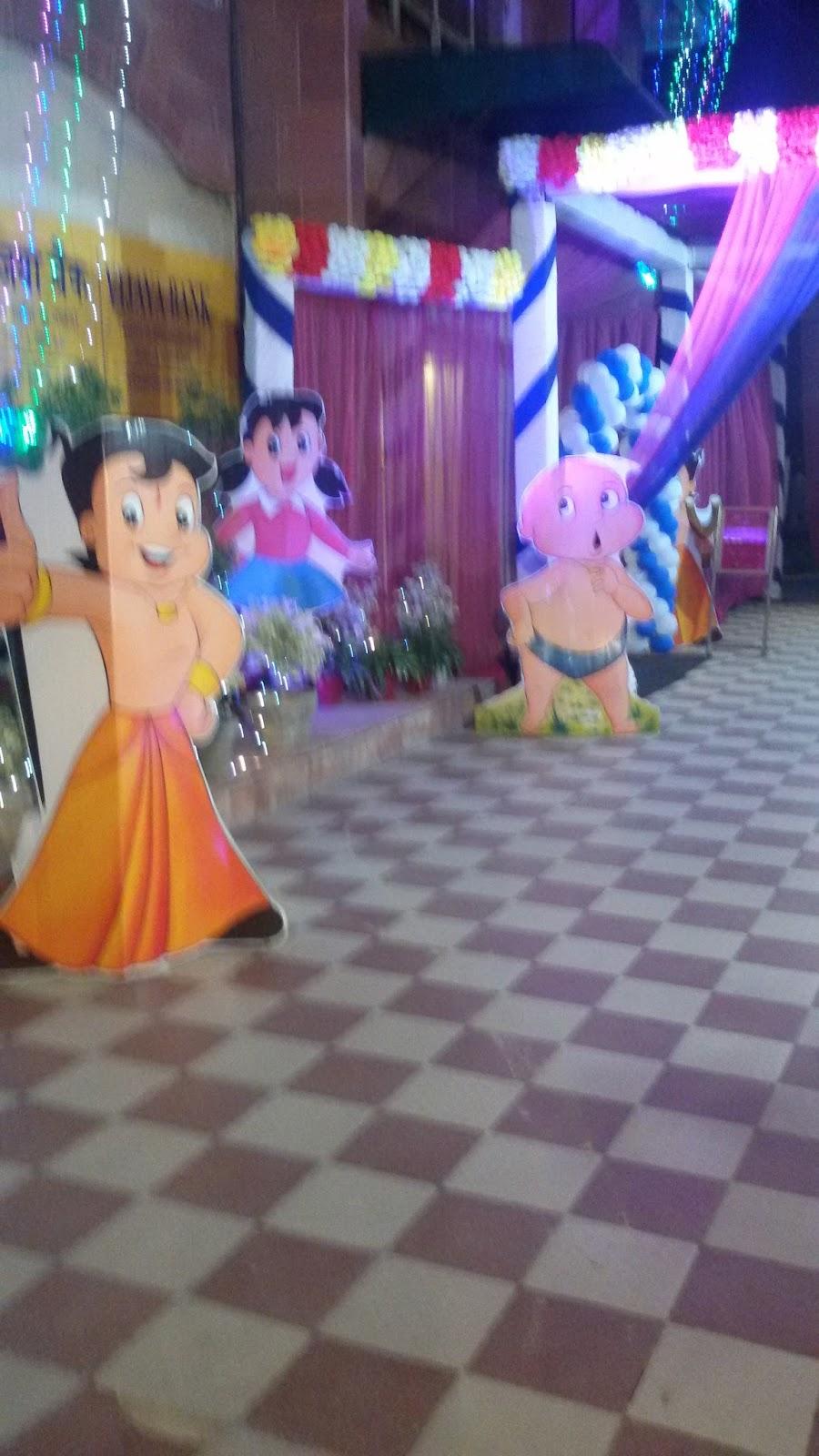 Royal Pepper Banquets Kids Birthday Party Chota Bheem Theme
