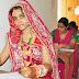 सोलह श्रृंगार किए एक दुल्हन ससुराल के आंगन की बजाय परीक्षा केन्द्र