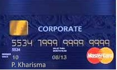 design Kartu Kredit BRI Mastercard Corporate