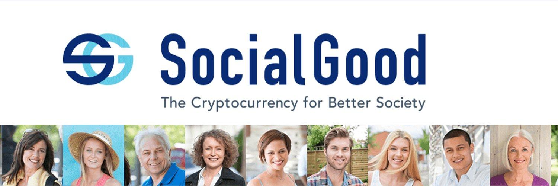 SocialGood Crypto Airdrop 2018   Free Airdrop Crypto