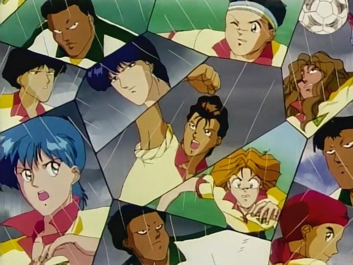 Tutti i cartoni animati giapponesi e non sul calcio