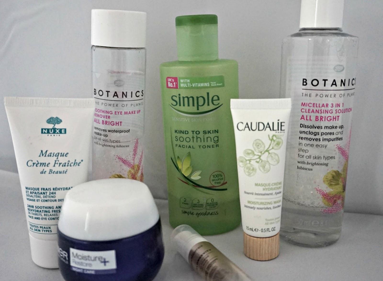 Botanics soothing eye makeup remover