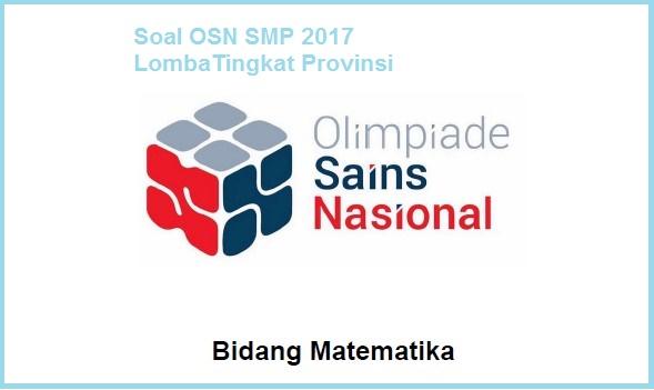 OSN Matematika SMP 2017