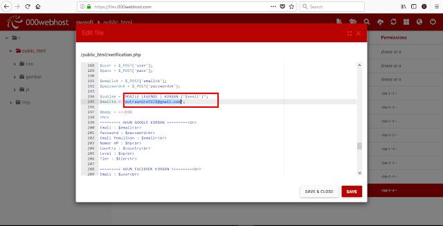 Membuat Web Phising, Cara Mudah Mencuri Akun Orang Lain !!