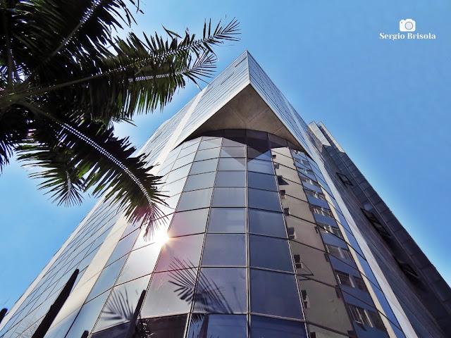 Perspectiva inferior do Edifício Afife - Santa Cecilia - São Paulo