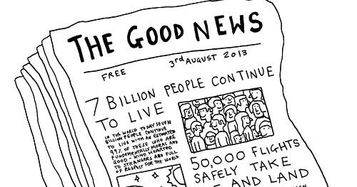 The Good News: August, 2016
