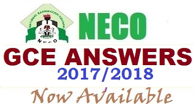 NECO GCE Expo 2017 | Answers for Biology, Physics, Chemistry, Maths, English, Agric. Sci. Runz