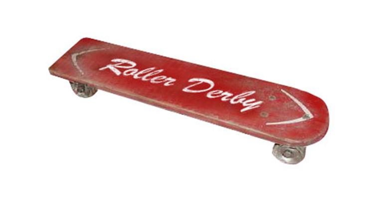 Primeiro Skate Produzido em Larga Escala pela Roller Derby