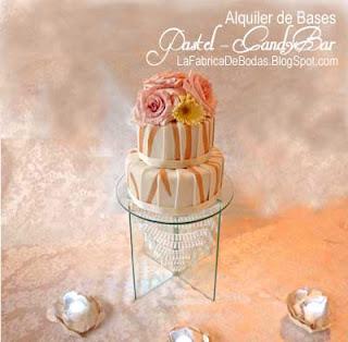 Alquiler renta de bases-pedestal para pastel de boda  chandelier cristal beadedciudad de guatemala