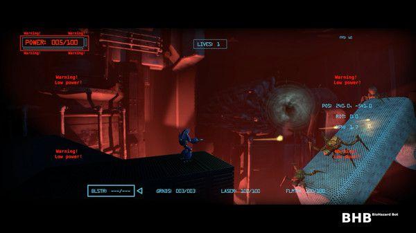 BHB: BioHazard Bot