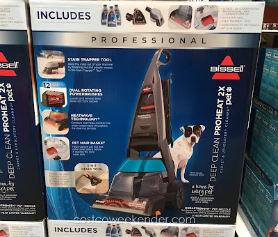 Every dog owner should also have a Bissell ProHeat 2x Professional Pet Carpet Cleaner
