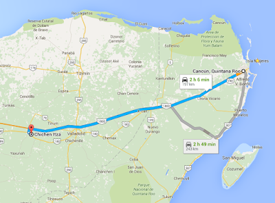 Dicas de Cancun -Rodovias de Cancun