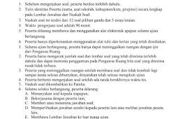 Download Latihan Soal & Kunci Jawaban KSM Tingkat Provinsi Jenjang MI MTs MA 2018