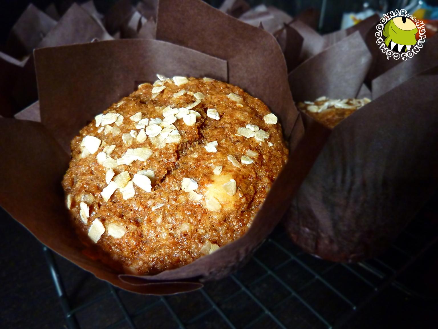 C mo cocinar para humanos muffins de salvado de trigo y for Cocinar trigo