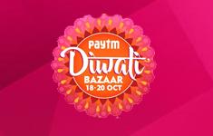 Paytm : Diwali Bazaar deals starting at just Re.1/- & Win iPhones & iPads.