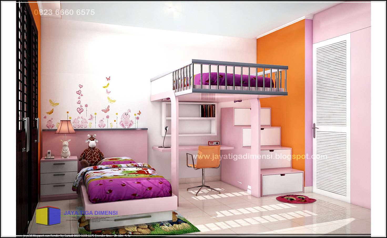 Tata Cara Mendekorasi Kamar Tidur Anak Perempuan Tips Rumah