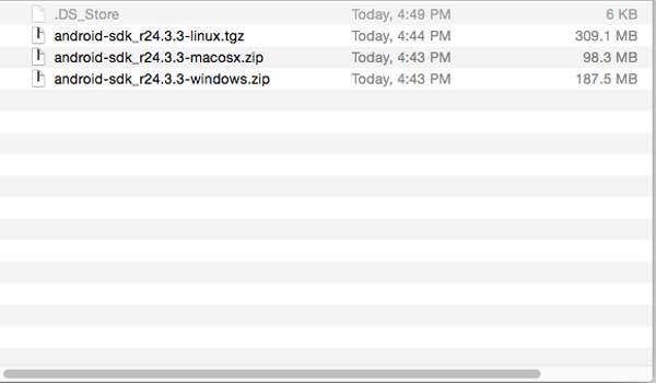cara install android sdk di windows dan mac