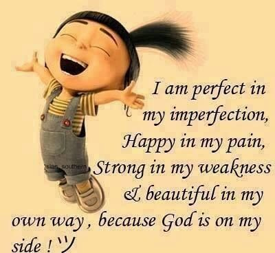 I am perfect in my imperfection life quotes tumblr
