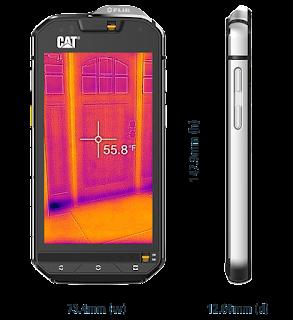 Termal kameralı cep telefonu Cat S60 n11.com'da