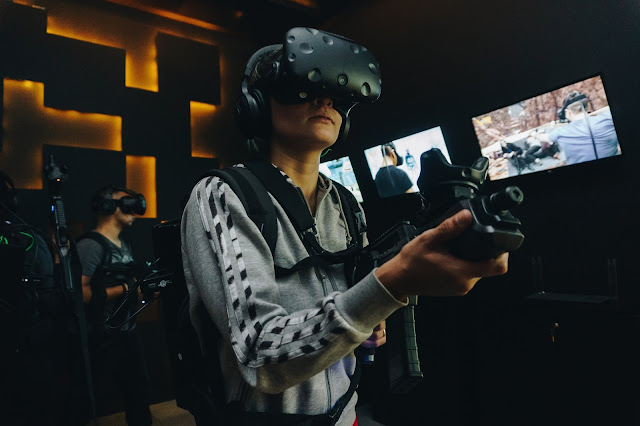 VR Gamer Realidade Virtual